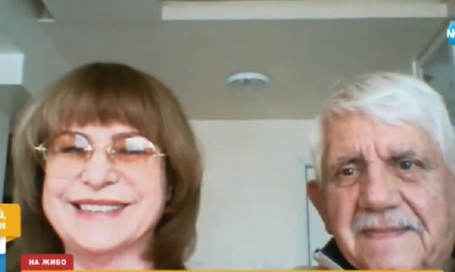 Мими Иванова и Развигор Попов: Преминахме през COVID-19 леко