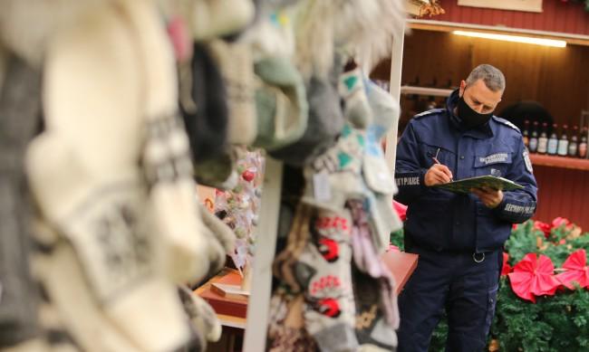 Намалиха работното време на Коледния базар заради нарушения