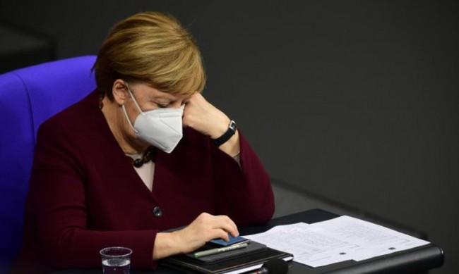 Меркел: При невнимание ще ни удари пак вълна на пандемията
