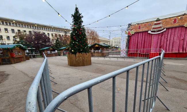 Коледните базари се свиват наполовина заради коронавируса