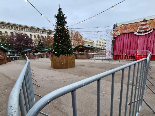 Коледните базари ще работят с наполовина от капацитета си в