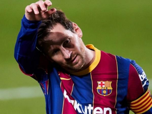 Капитанът на Барселона Лионел Меси е глобен за жест в
