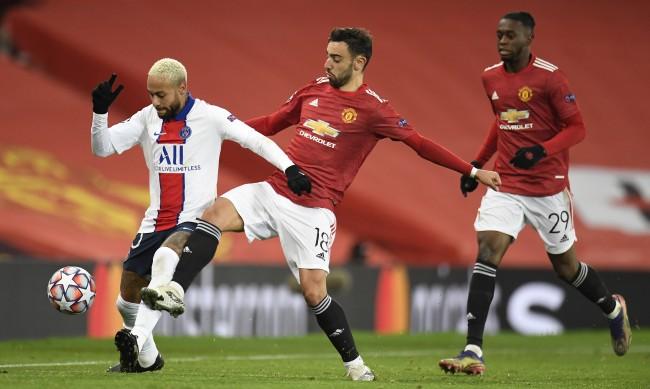 Манчестър Юнайтед отстъпи на ПСЖ с 1:3 у дома
