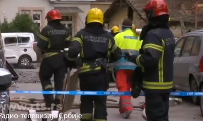 Човек загина при силна експлозия в центъра на Белград