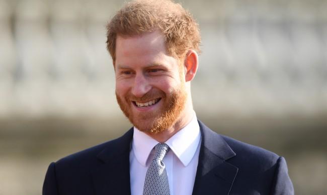 Сбъркали принц Хари с продавач на елхи