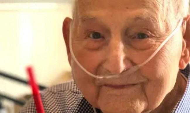 Ветеран пребори COVID-19 навреме за 104-я си рожден ден