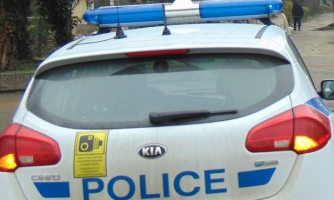 Катастрофа с патрулка на Цариградско шосе