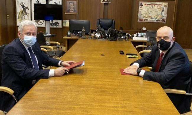 Прокуратурата и КРИБ подписаха Меморандум за сътрудничество