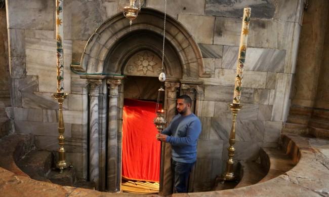 Без богомолци на литургията на Бъдни вечер във Витлеем