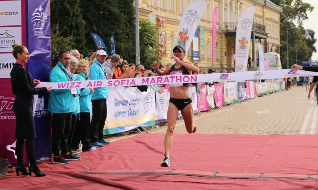 Наказаха победителката от Маратона на София заради допинг