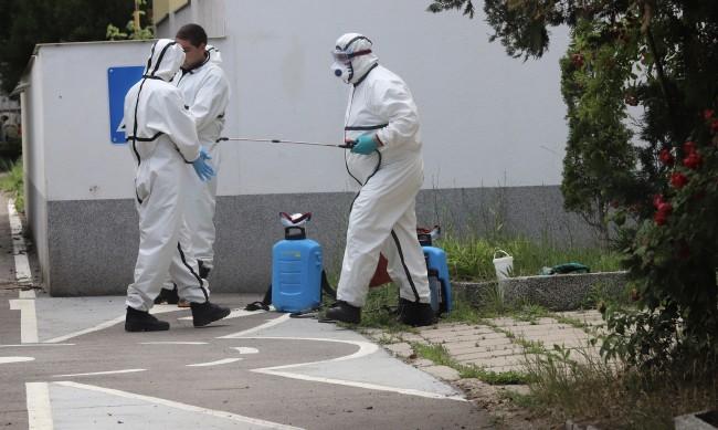Мащабна дезинфекция в Бургас