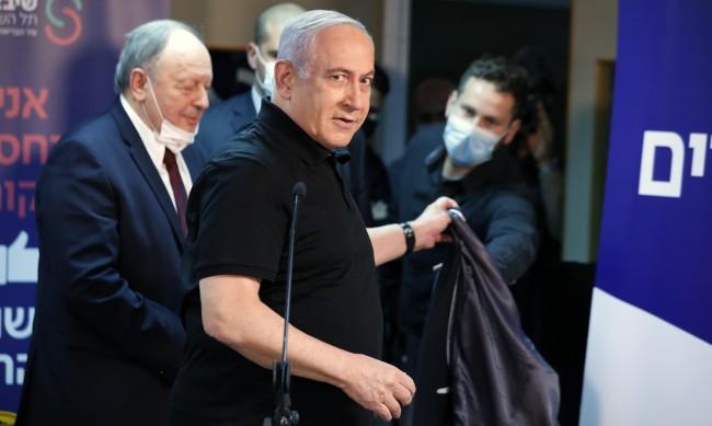 Бенямин Нетаняху пръв в Израел се ваксинира срещу коронавируса