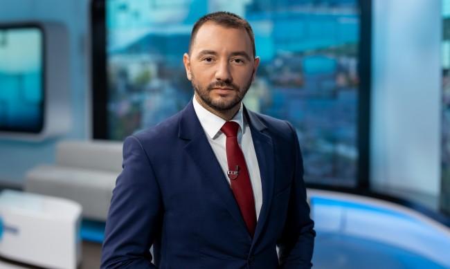 Хекимян оглави новините на bTV, сменя Венелин Петков