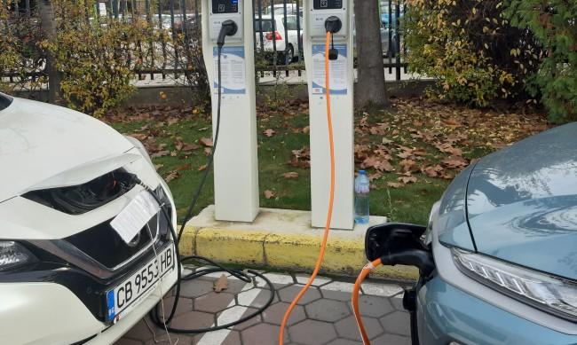 123 зарядни станции за електромобили вече работят