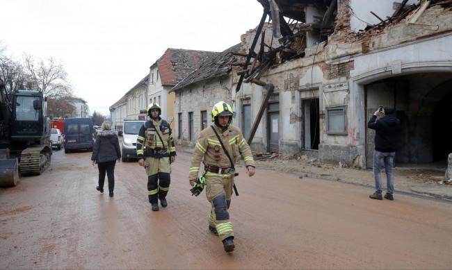 Поредно земетресение край Петриня