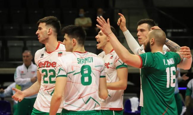 България удари Австрия с 3:1 по пътя за Евроволей 2021