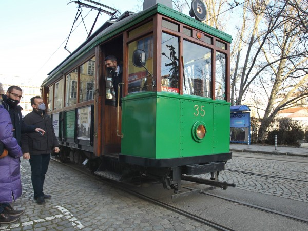 Снимка: Димитър Кьосемарлиев, Dnes.bgСтоличният градски транспорт отбелязва днес своята 120-годишнина.
