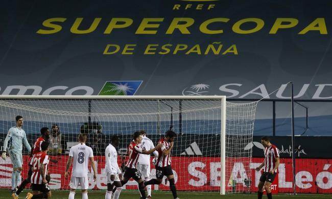 """Няма да има """"Ел Класико"""" за Суперкупата! Атлетик Билбао надви Реал Мадрид"""