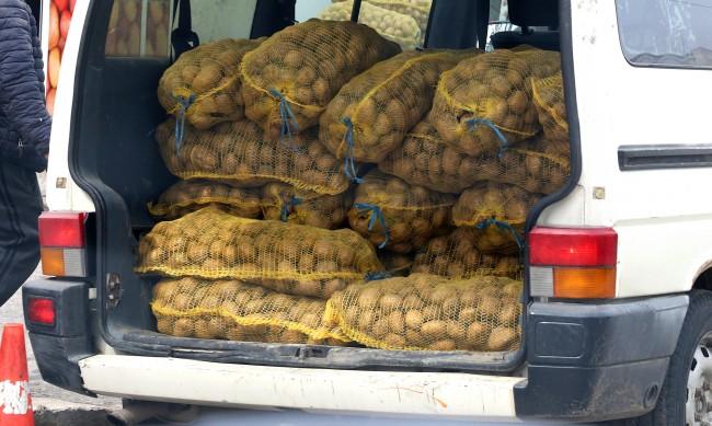 БАБХ провери картофите, няма несъответствия в произхода