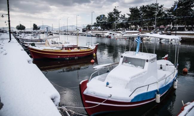 В Гърция - от летните 20 градуса отчетоха минус 20