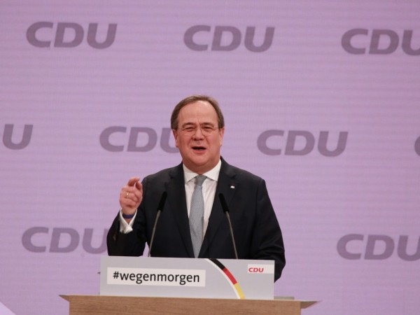 Армин Лашет, премиерът на провинция Северен Рейн-Вестфалия, бе избран за