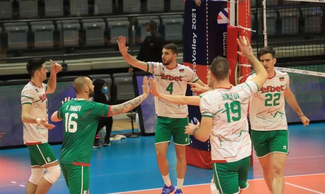 Волейболистите ни биха отново Австрия, класираха се за Евро 2021