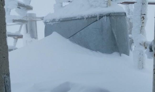 Ледена епоха: -27 °С на връх Мусала, -22 °С на връх Ботев