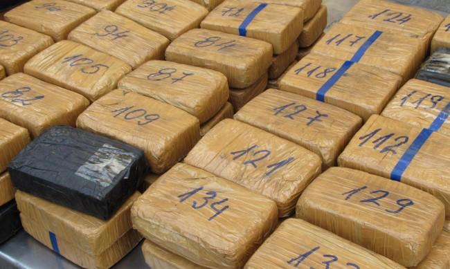 Полицията в Еквадор хвана 1,3 тона кокаин