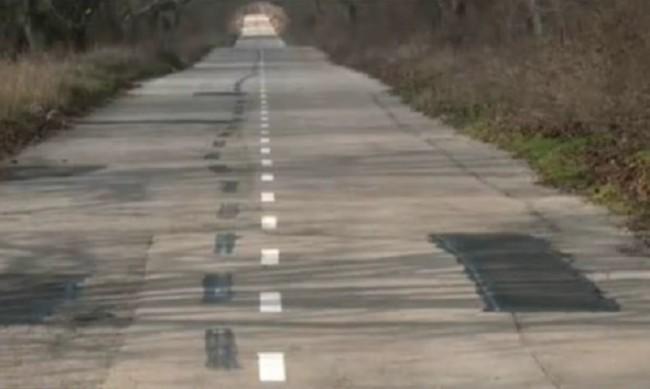 Пътна маркировка между села криволичи над 10 километра