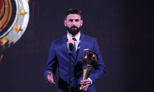 Димитър Илиев отново е футболист №1 на България