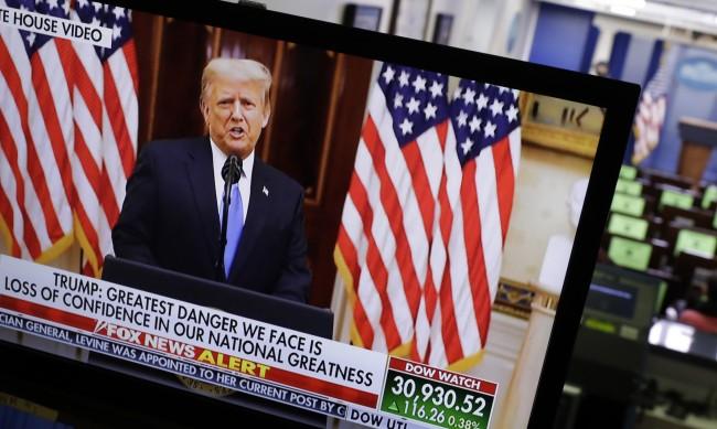 Тръмп прощално: Бях първият президент, който не започна война