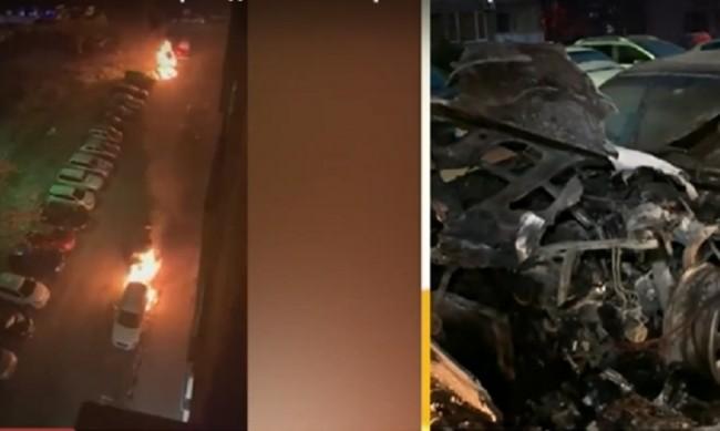 Вендета: Запалиха три коли на един собственик в Перник