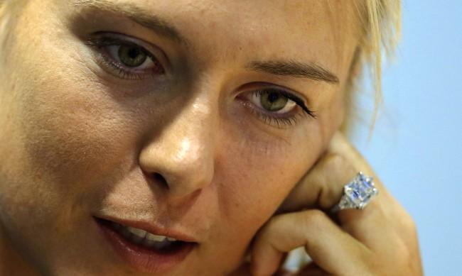 Годежният пръстен на Шарапова - за 400 хиляди долара