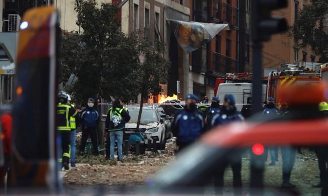 Жертвите на експлозията в Мадрид вече са четирима