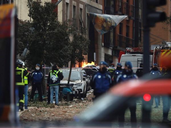 Жертвите на експлозията в Мадрид вече са четирима души, сред