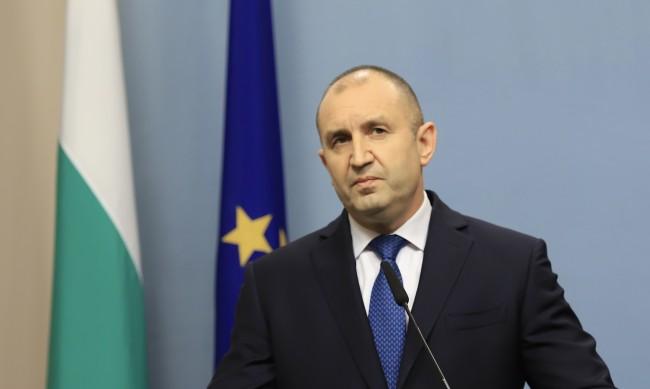 Радев към Байдън: България високо цени сътрудничеството със САЩ