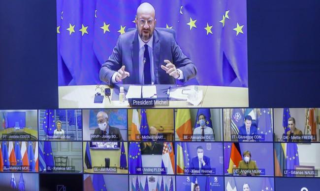 """""""Тъмночервени зони"""" с особено силно разпространение на COVID в ЕС"""