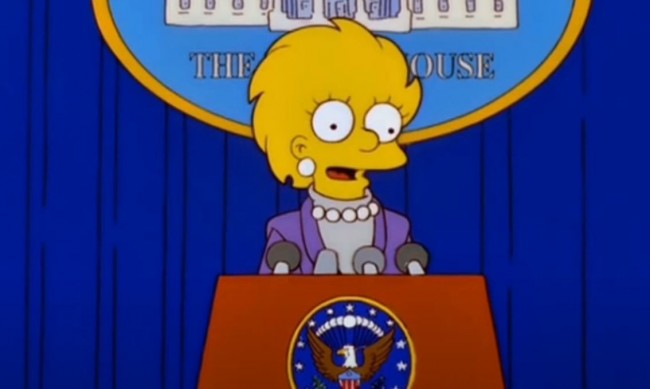 """Лиса и Камала Харис - предсказаха ли """"Симпсънс"""" бъдещето отново?"""