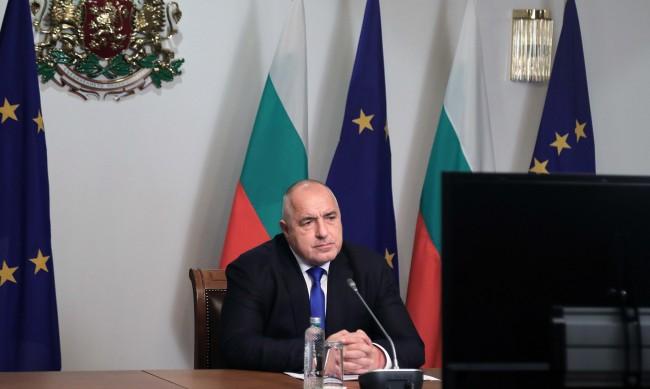 Борисов призова Радев да коментира ареста на Навални