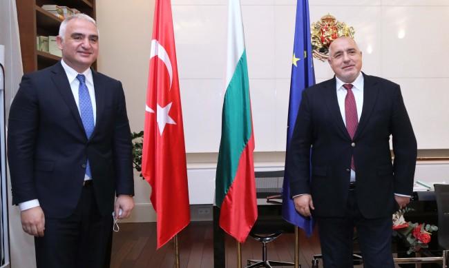 Борисов: Подкрепяме диалога на Анкара с ЕС