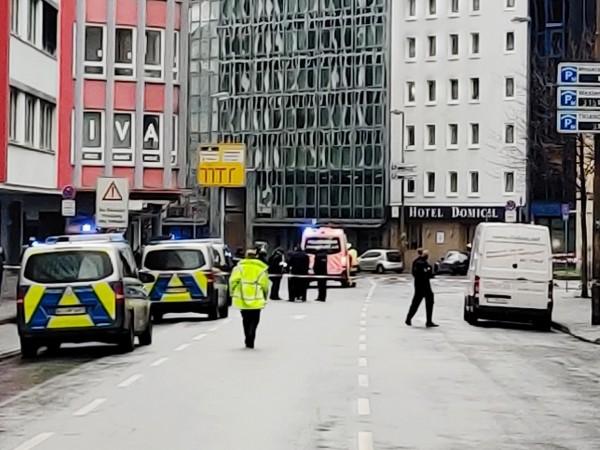 Атака с нож е станала тази сутрин във Франфурт. Инцидентът