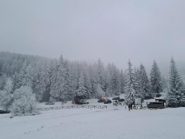 Снежен циклон връхлетя в България и отново донесе снеговалежи и