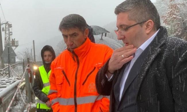 Нанков: Пътят към Банско, Разлог и Симитли е спокоен
