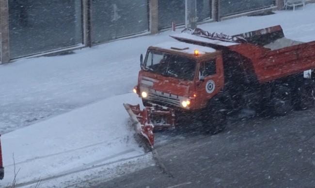 Пловдив почистен до асфалт след снеговалежа