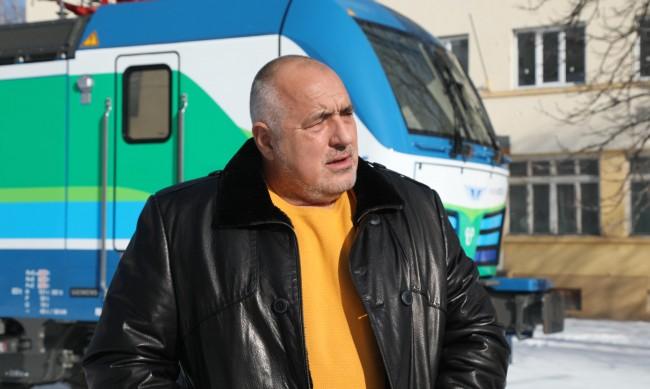 Борисов: БДЖ вече има най-добрите локомотиви в света!