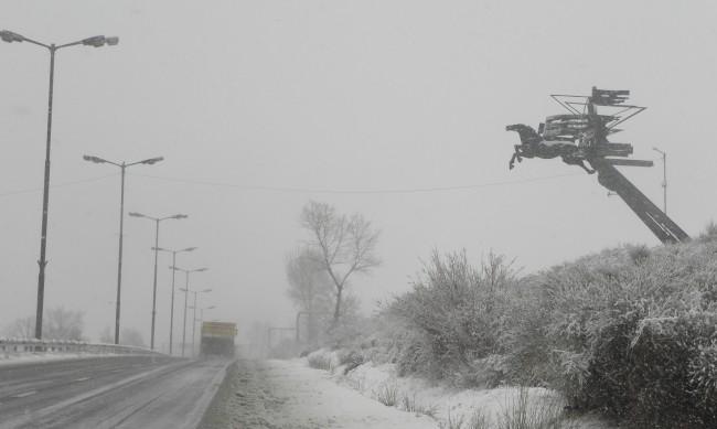Тировете, блокирани на пътя Варна - Добрич, вече са освободени