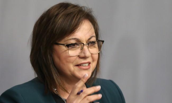 Нинова поведе листата на БСП в 25 МИР в София