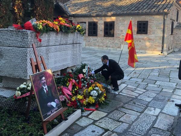 Преди няколко дни в македонските медии се появиха възхвалящи материали