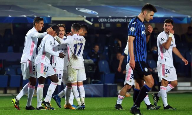 Гол в края донесе успех на Реал Мадрид срещу Аталанта
