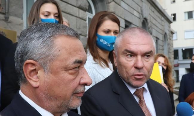 """Нови партии към коалицията """"Воля"""" - НФСБ"""